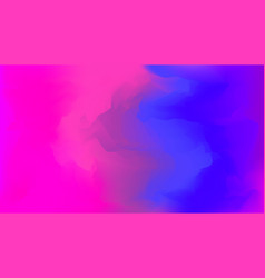 blue and pink glitch gradient background vector image