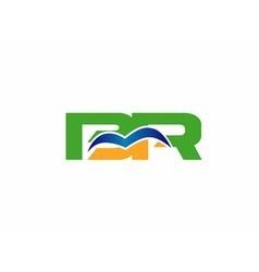 BR logo vector image vector image