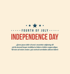 collection independence day background style vector image