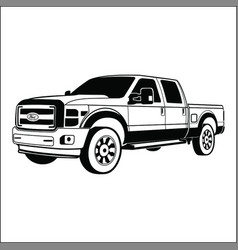 Ford powerstroke vector