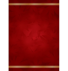 goldred luxury background vector image