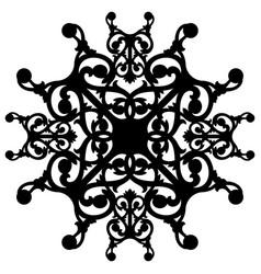 oriental ornament decorate vector image