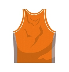 Tshirt icon Basketball design graphic vector image