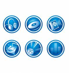 set of party web icons vector image