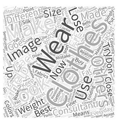 An Image Consultant Can Help You Lose Weight Word vector