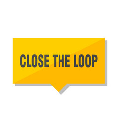 Close the loop price tag vector