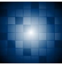 Dark blue technology template vector