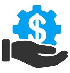Development Service Flat Icon vector