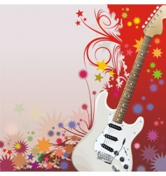 hippie style background vector image