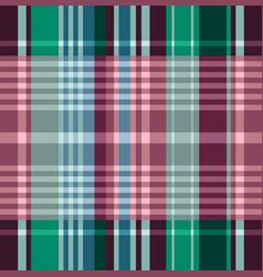 madras tartan plaid seamless pattern vector image