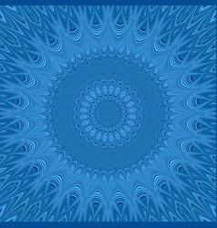 Mandala star fractal ornament background vector