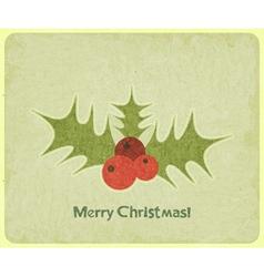 mistletoe vector image