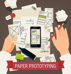 Paper Prototyping vector
