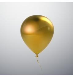 Realistic glossy balloon vector