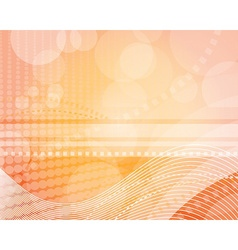 Abstract background with playful light vector image