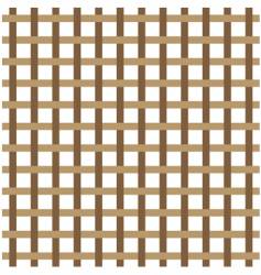 brown weave vector image vector image