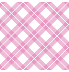 checkered lines design pattern vector image vector image