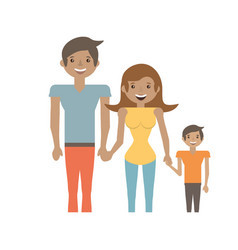 family people relation lovely vector image