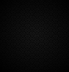 Dark vintage seamless background vector image vector image