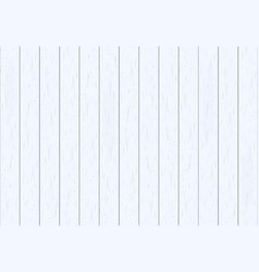 white wood plank texture background vector image