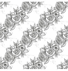 bouquet lisianthus flowers vector image