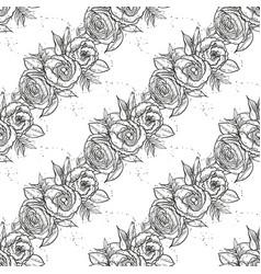 bouquet of lisianthus flowers vector image