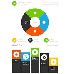 Elements infographics stock vector