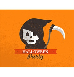 Halloween cute poster vector