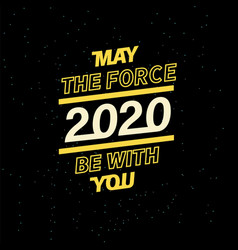 May force be with you for your seasonal vector