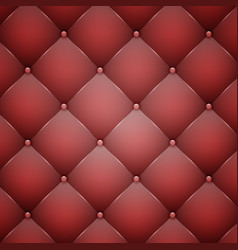 Red leather texture vector