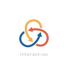 Interaction vector