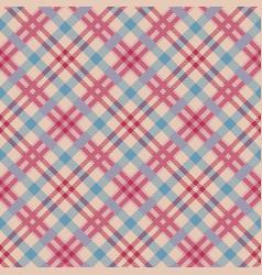 classic tartanchristmas plaid seamless patterns vector image