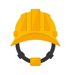 Helmet head protective industrial vector