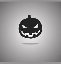 Pumpkin halloween isolated vector
