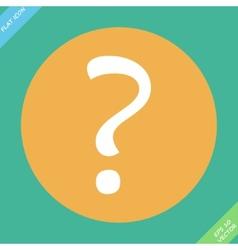 Question mark sign icon Help symbol FAQ sign vector