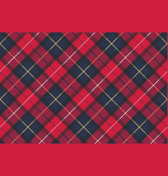 Seamless pattern check plaid fabric texture vector