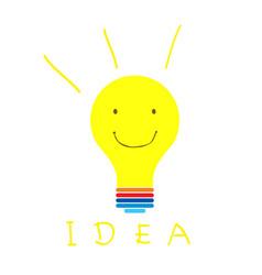 Smile idea vector
