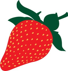 strawberry1 vector image