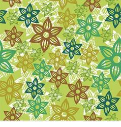 floral texture vector image