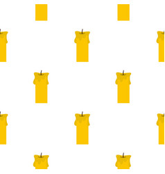 Big candle pattern seamless vector