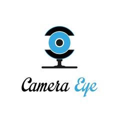 Camera eye vector