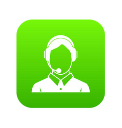 client services phone assistance icon digital vector image