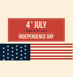collection banner for independence day vector image