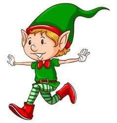 Elf vector image