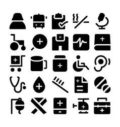 Health icons 8 vector