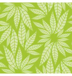 leaves pattern vector image