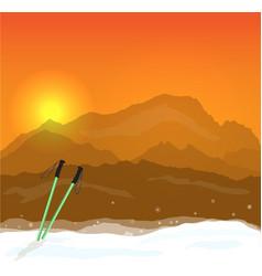 Winter sports concept g vector