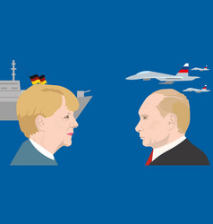 World leaders theme vector