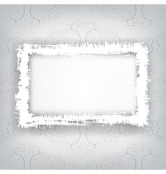 Grungy frame vector