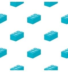 Building block cartoon icon for web vector